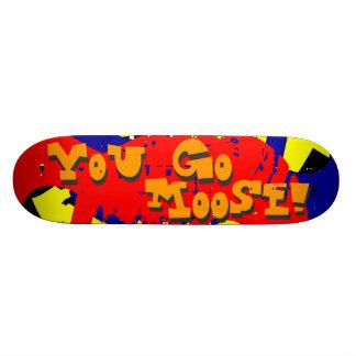 Du går älgen! skateboard