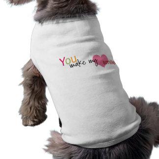 Du gör min hjärtaleendehund tröja