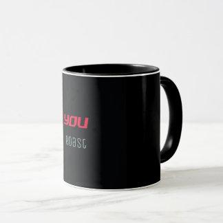 Du grillar kaffemuggen mugg