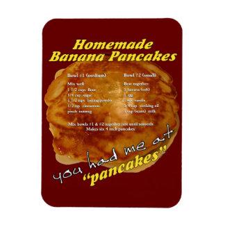 """Du hade mig på """"den pannkaka"""" - receptmagneten magnet"""
