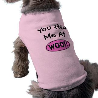 Du hade mig på WOOF! Husdjurströja