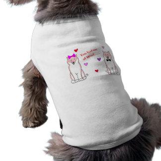 Du hade mig på Woof Shiba Inu Hundtröja