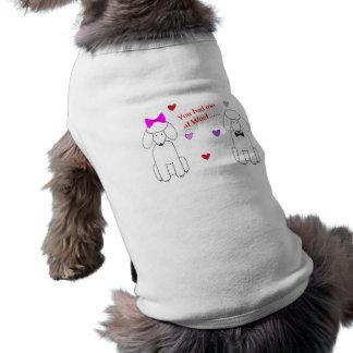 Du hade mig på Woofpudeln Hundtröja