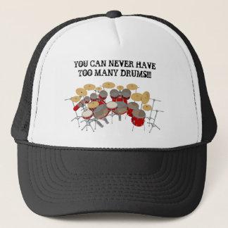 Du kan aldrig ha för många trummar! keps