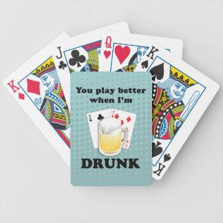 Du leker bättre (svart text) leka kort spelkort