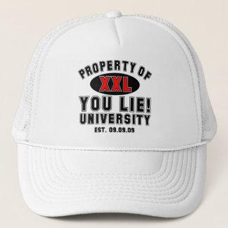 Du ljuger! Universiteten Truckerkeps