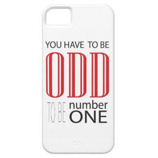 Du måste att vara udda att vara numrerar en iPhone 5 cases
