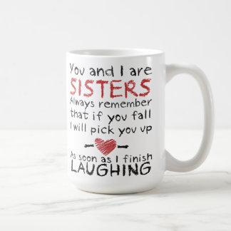Du och jag är systerkaffemuggen