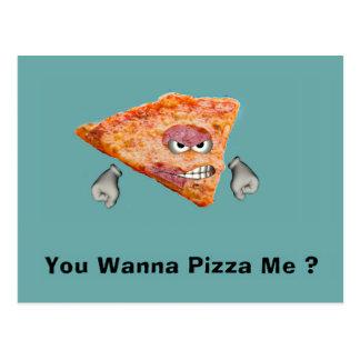 Du önskar till Pizza mig? Vykort