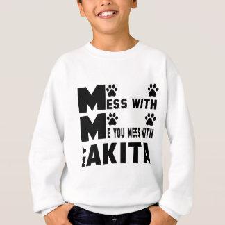 Du rörar med min Akita T-shirts