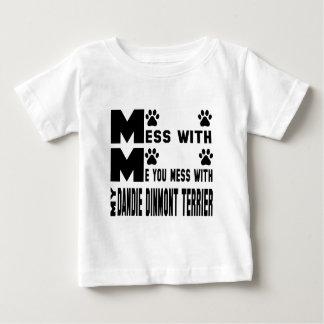 Du rörar med min Dandie Dinmont Terrier Tee