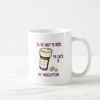 Du ska just att överskrida begränsar av min kaffemugg