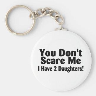 Du skrämmer inte mig som jag har 2 döttrar nyckel ringar