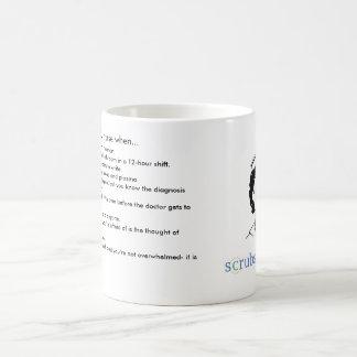 Du vet att du är en ICU-sjuksköterska när… Kaffemugg