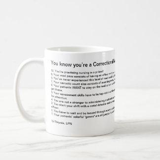 Du vet att du är en kaffemugg