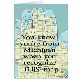 Du vet att du är från Michigan när OBS Kort