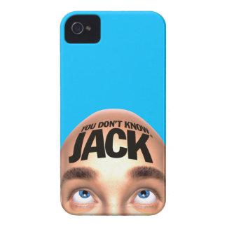 DU VET INTE fodral för JACKiPhone 4 iPhone 4 Case-Mate Case