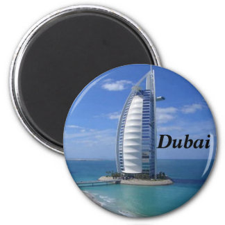 Dubai magnet magnet rund 5.7 cm