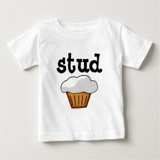Dubba muffinen, gullig rolig bakad bra tee shirt