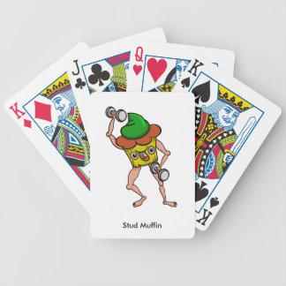 Dubba muffinen stillar den jätte- roliga spelkort
