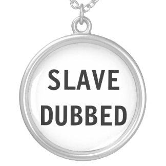 Dubbat slav- för halsband
