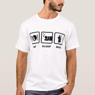 Dubbel basist t shirts