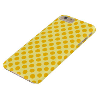 Dubbel gul polka dots barely there iPhone 6 plus fodral