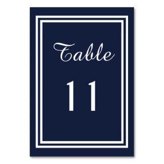 Dubbel marinklippning - bordkort bordsnummer