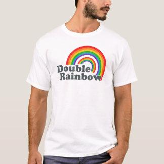 Dubbel regnbåge (den ha på sig looken) tshirts