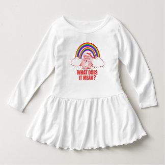 Dubbel regnbågejultomten t-shirt