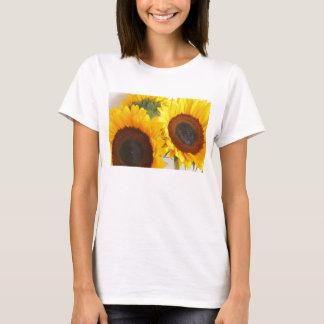 Dubbel solrosT-tröja Tee Shirts