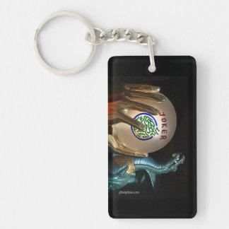 Dubbelsidig nyckelring för Mah Jonng