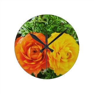 Dubbla besvärar blomman rund klocka