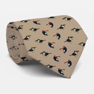 Dubbla för den Toucan frenesitien sid trycket Slips