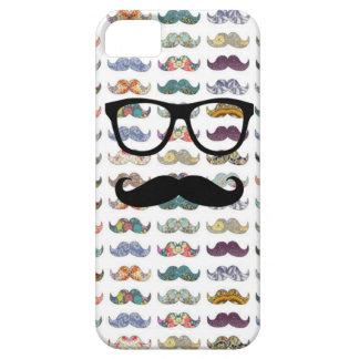 dubbla sid mustaschen iPhone 5 fodraler
