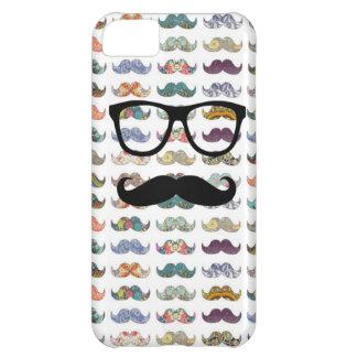 dubbla sid mustaschen iPhone 5C fodral