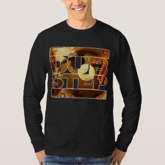 Duben för musik för DUBSTEP-vinyldubplates kliver T Shirts