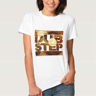 Duben för musik för DUBSTEP-vinyldubplates kliver T-shirts