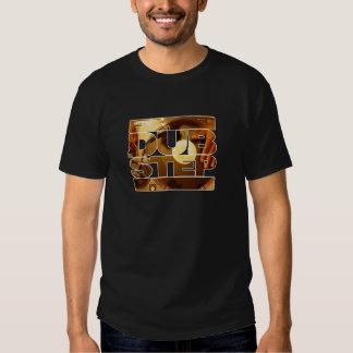 Duben för musik för DUBSTEP-vinyldubplates kliver Tee Shirts