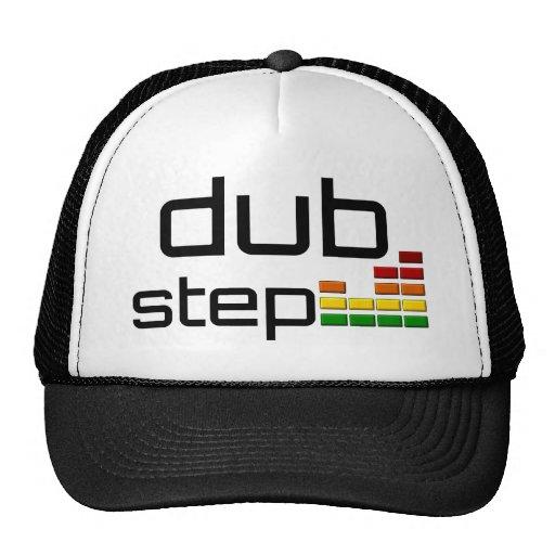 Duben kliver musik med den stereo- utjämnaren baseball hat