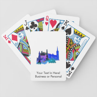 dublin ireland blåttstad graphic.png spelkort
