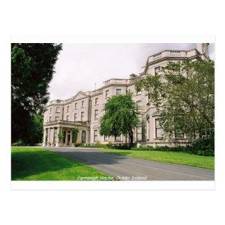 Dublin Irland, det Farmleigh huset, Phoenix Vykort