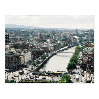 Dublin stadshorisont, O'Connell överbryggar Vykort