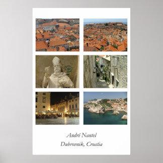 Dubrovnik affisch
