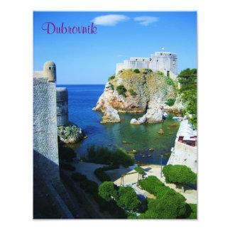 Dubrovnik fototryck/affisch fototryck