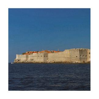 Dubrovnik gammal stad, Kroatien Trätavla