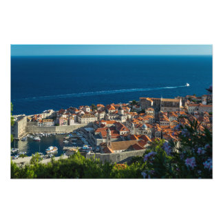 Dubrovnik hamn, Kroatien - foto