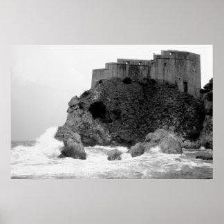 Dubrovnik Kroatien 169 Poster