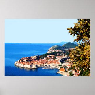 Dubrovnik Kroatien 288 Poster