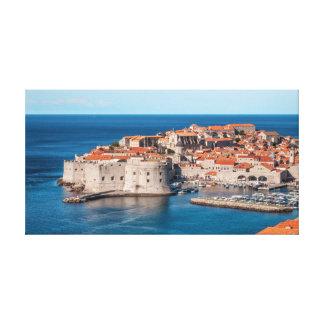 Dubrovnik Kroatien Canvastryck